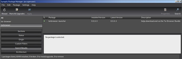 torbrowser-launcher