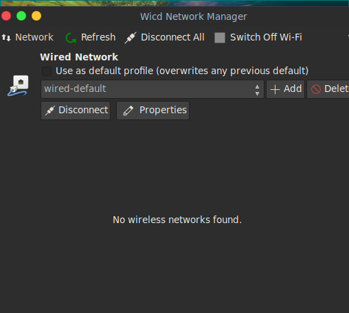Wifi not showing - Community - Parrot Community